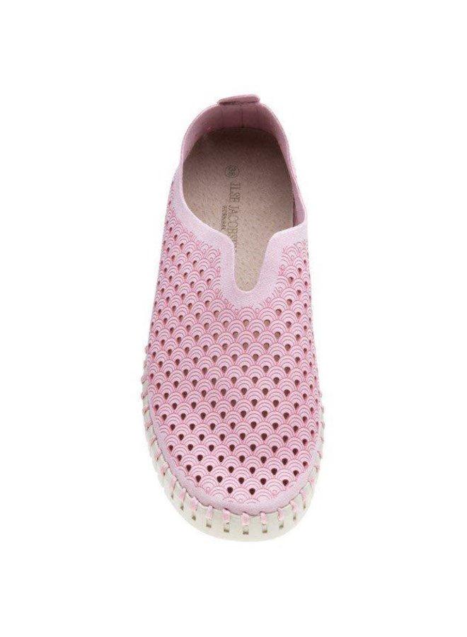 Ilse Jacobsen Tulip Shoe In Adobe Rose