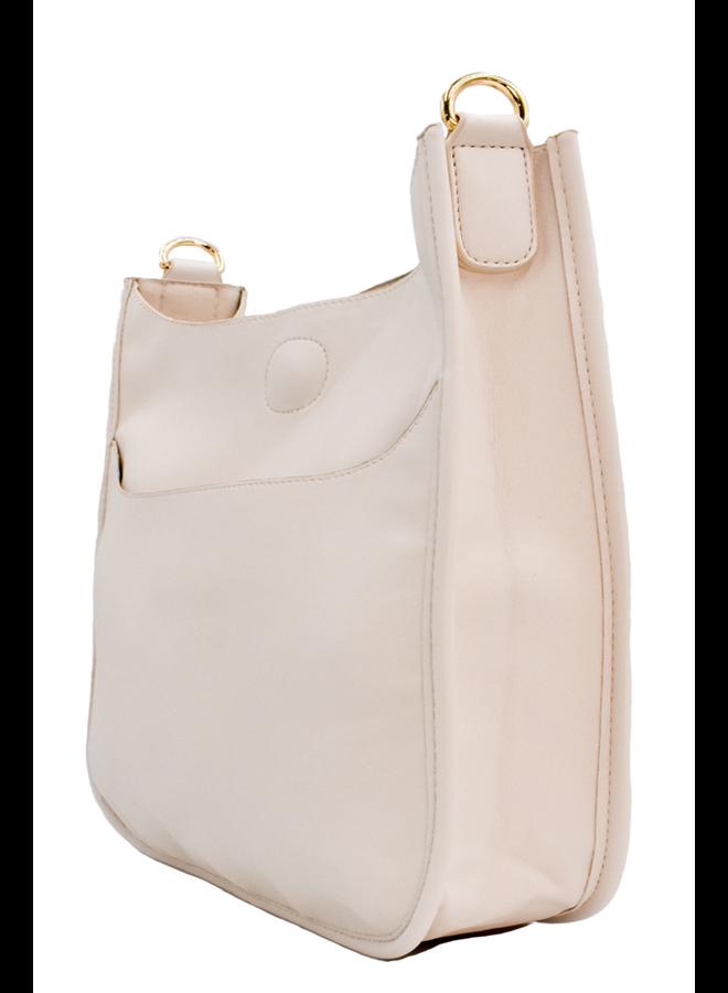 Ahdorned Classic Bag In Cream