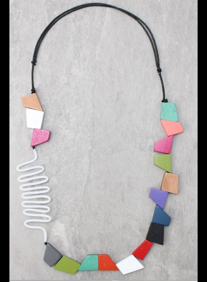 Multi Frida Tubing Necklace