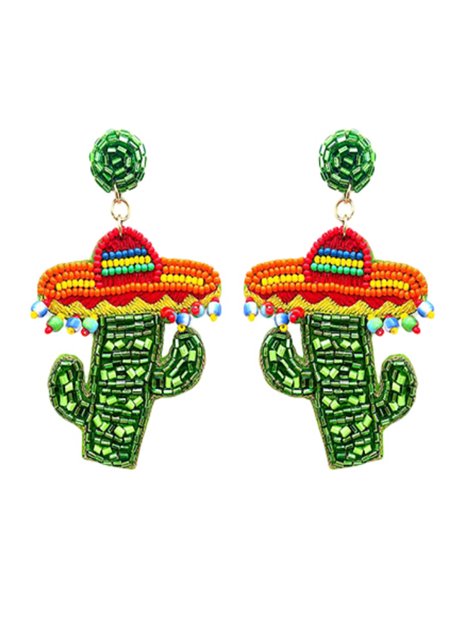 Senior Cactus Earrings