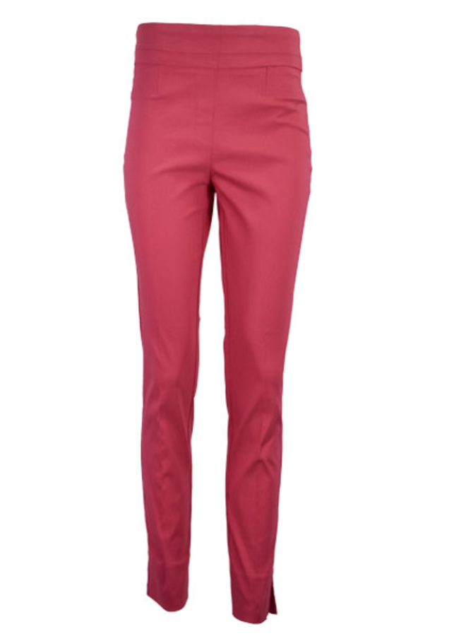 The Ankle Cigarette Magic Pant In Rose Tropic