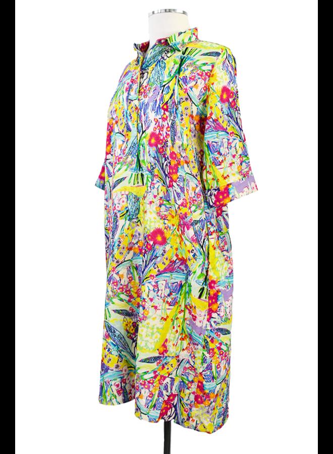 Atelier 5 Summer Garden A-Line Dress