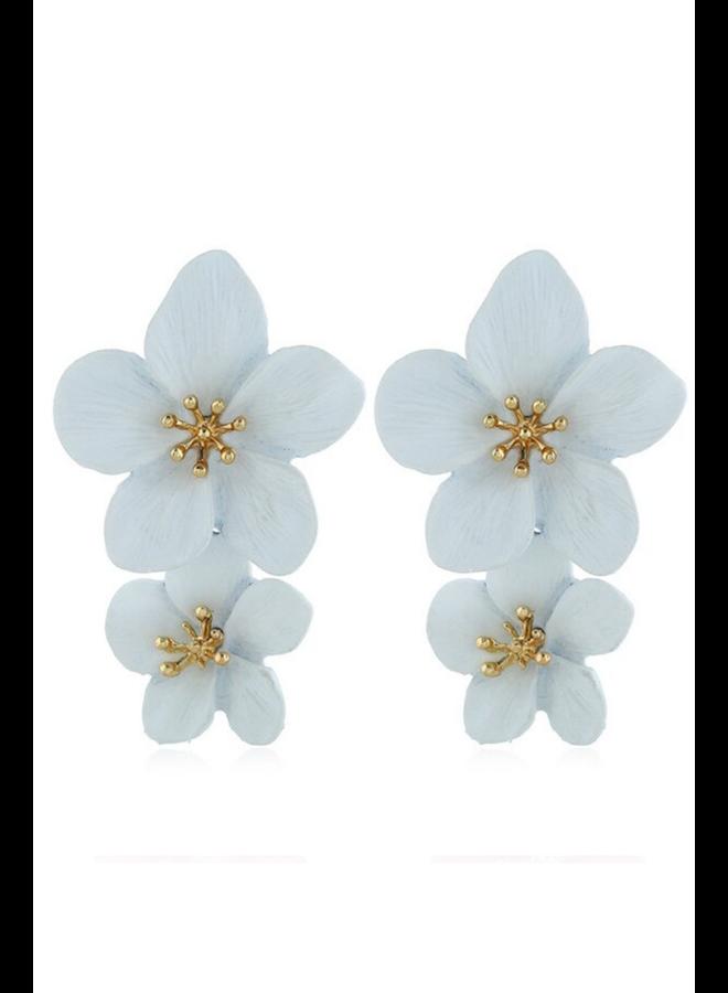 Double Flower Earrings