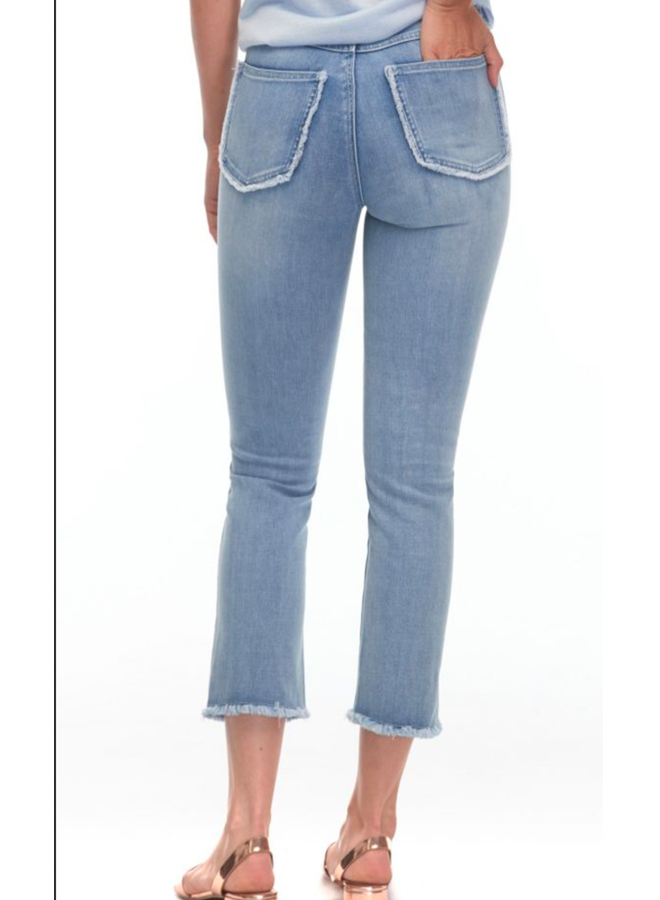 French Dressing Olivia Straight Crop Jean