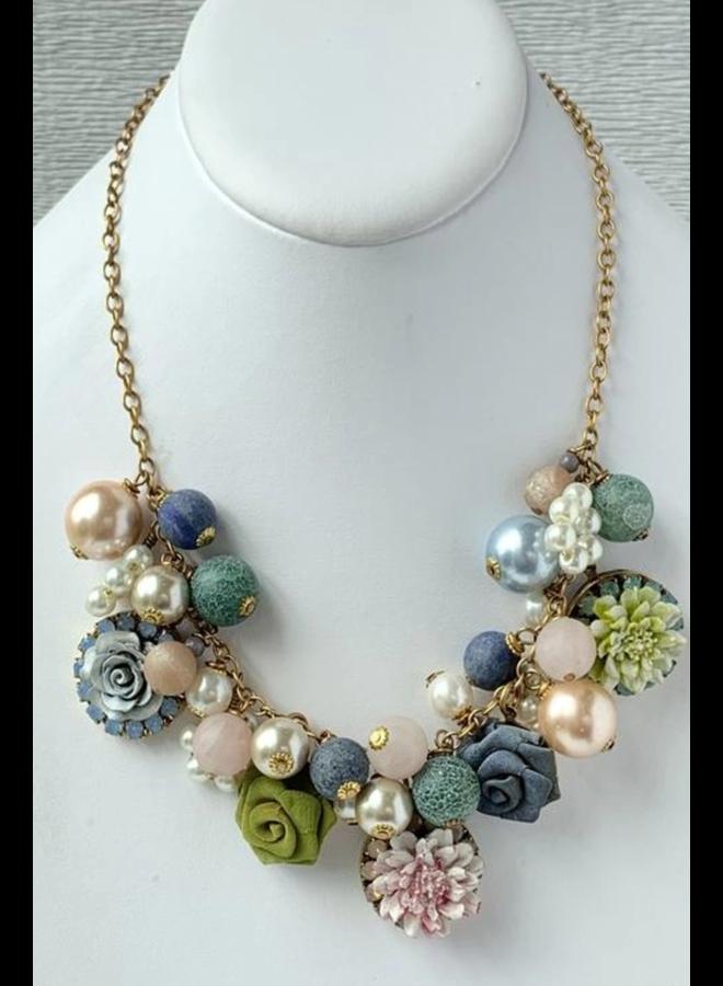 Lenora Dame Garden Party Necklace