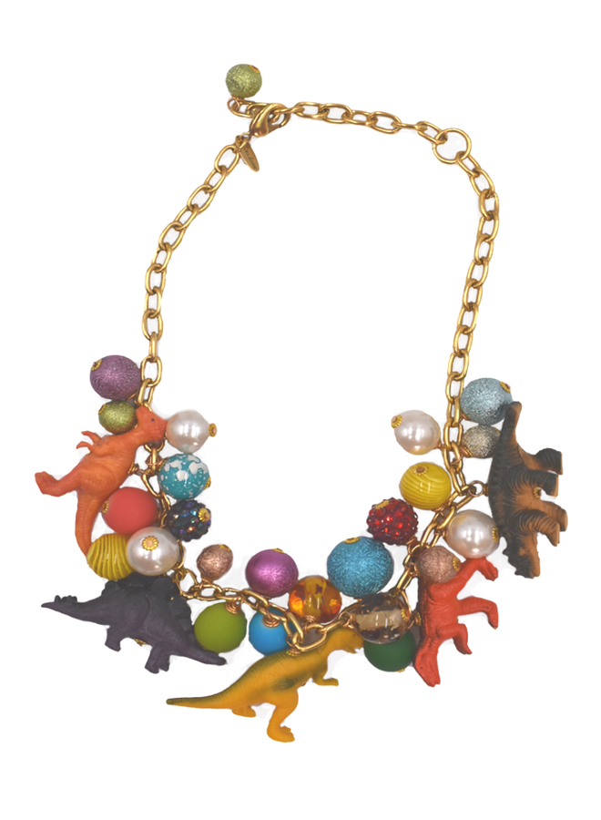 Lenora Dame Classic Dino Necklace