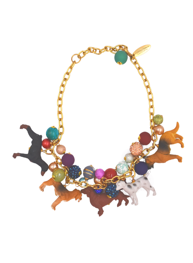 Lenora Dame Must Love Dogs Necklace