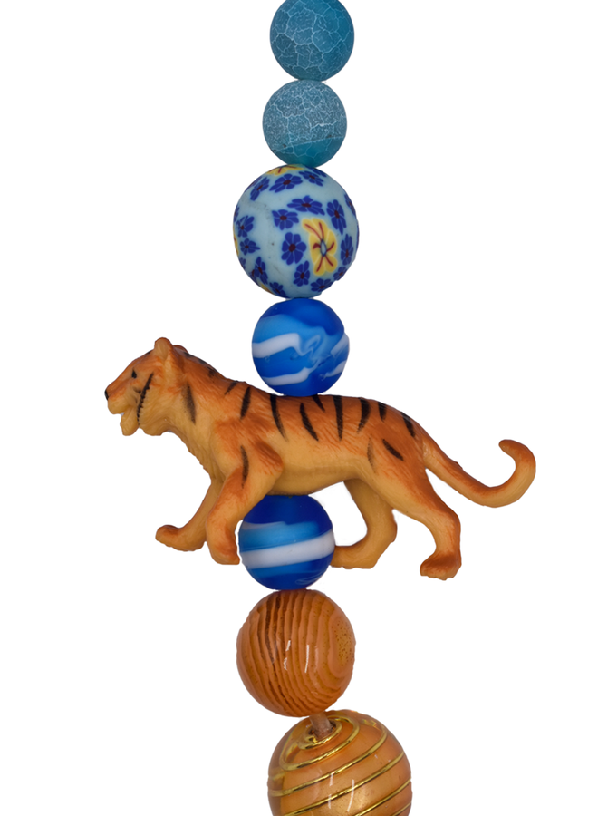 Lenora Dame Bengal Tiger Necklace