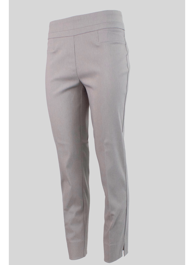 The Ankle Cigarette Magic Pant In Heather Silver