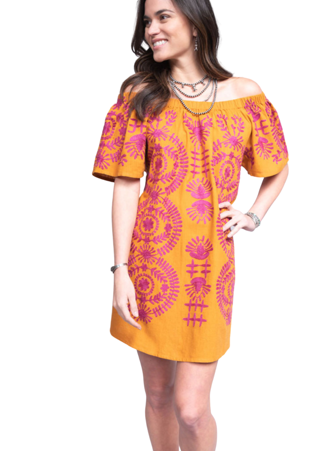 Uncle Frank Crewel Intentions Dress