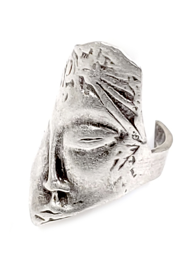 Ancient Face Ring