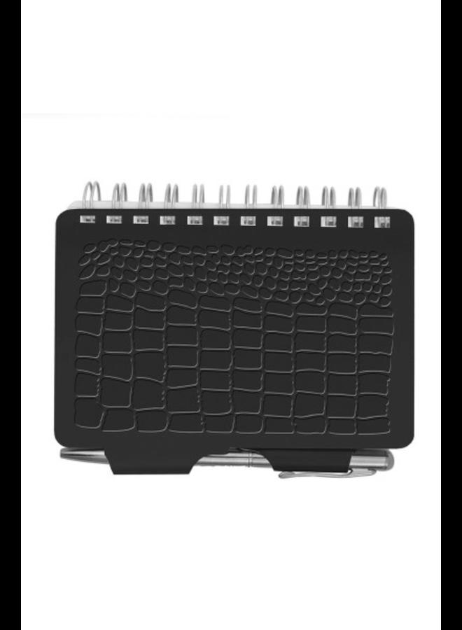 Black Croc Password Book
