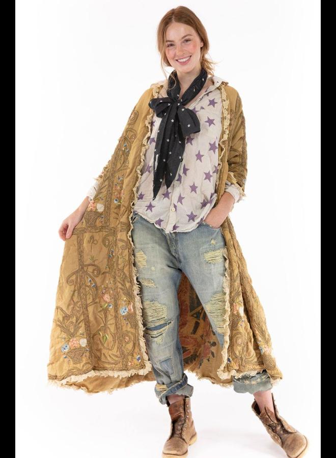 Magnolia Pearl O Leary Coat In Baltic Amber