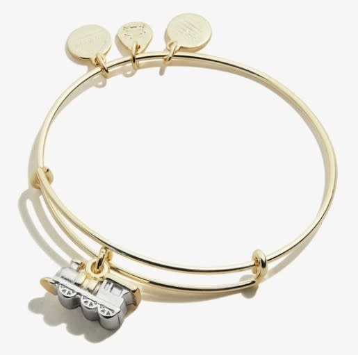 Train Two-Tone Bangle