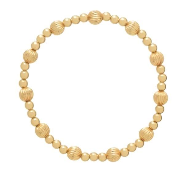 Dignity Sincerity 6mm Gold Bracelet