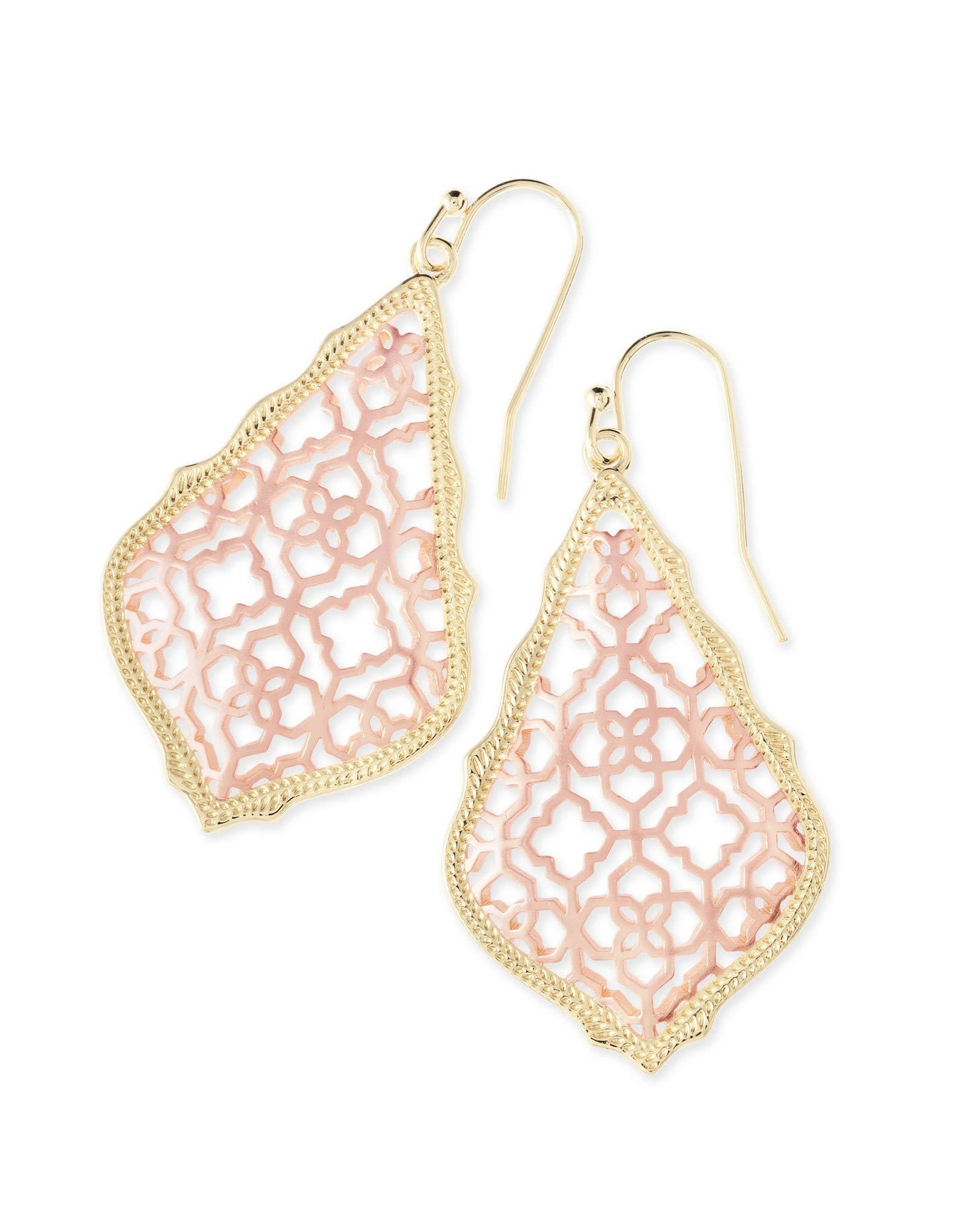 Addie Earring Rose Gold Mix