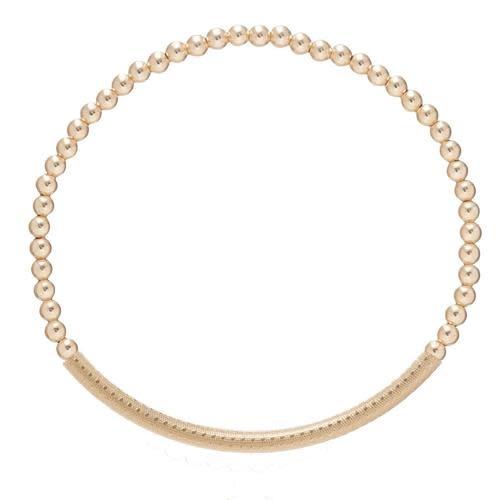 Bliss Textured Bar 3mm Bracelet
