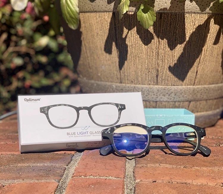 Optimum Optical Downtown Blue Light Glasses