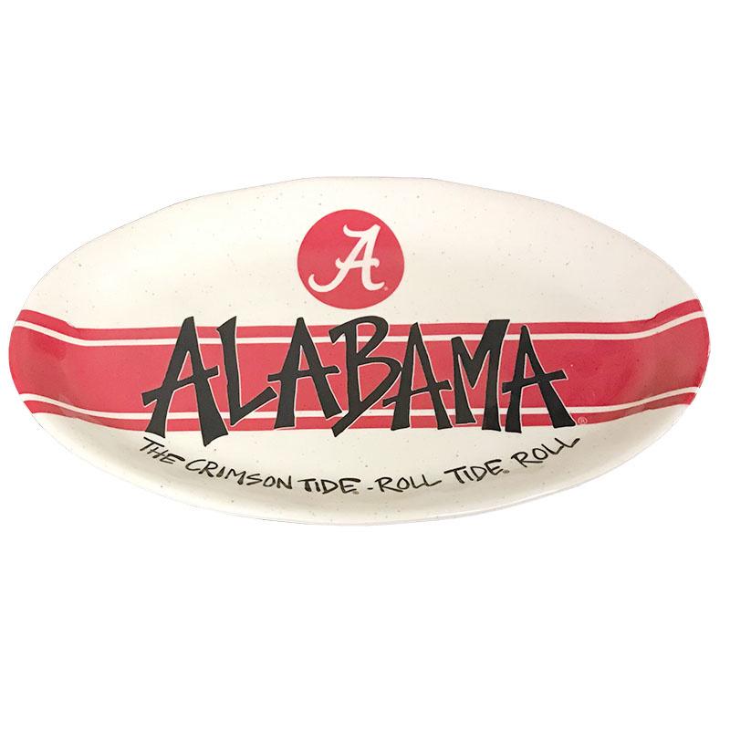 Alabama Oval Melamine Server