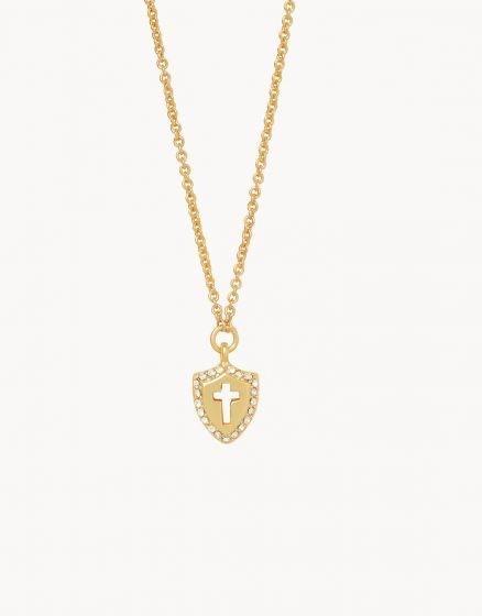 Faith Over Fear Sea La Vie Necklace