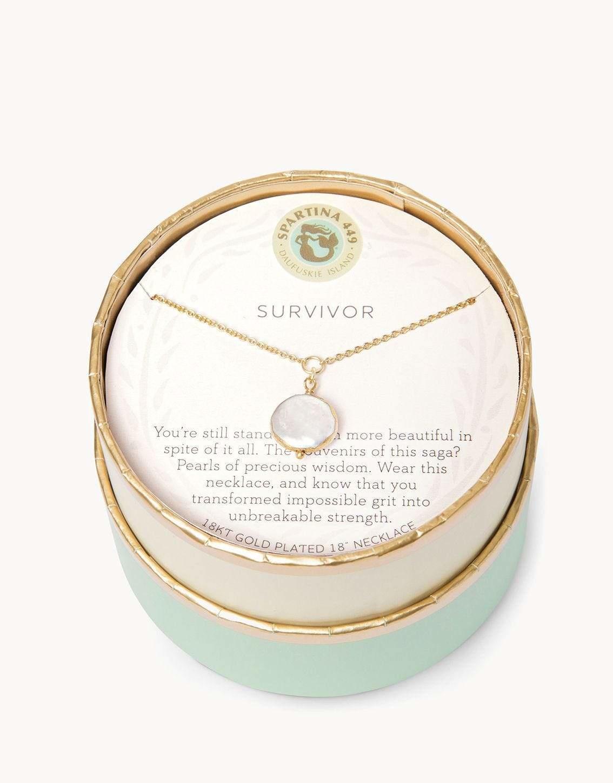 Spartina Sea La Vie Survivor Sea La Vie Necklace