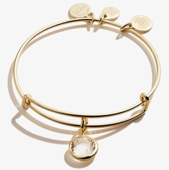 April Birthstone Bangle