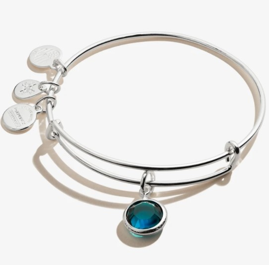 May Birthstone Bangle