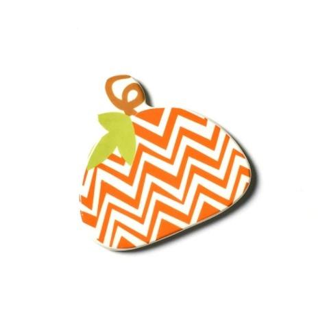 Happy Everything Chevron Pumpkin Mini Attachment