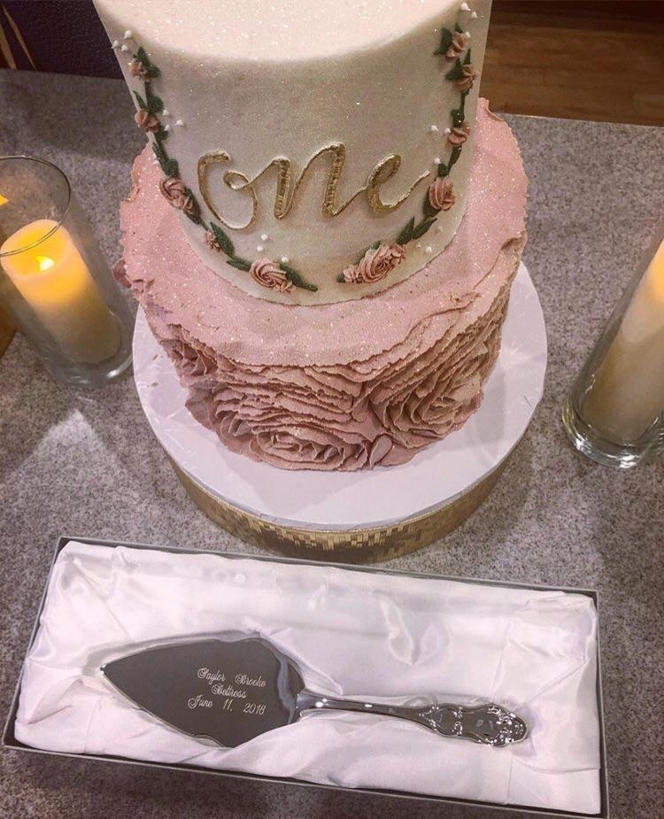 Birthday Cake Server Set