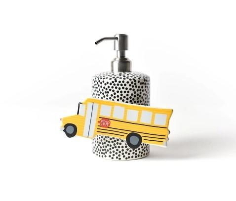 Happy Everything Black Dot Mini Soap Pump