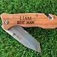 Engraved Pocket Knife w/ Clip