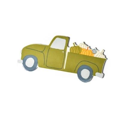 Happy Everything Pumpkin Truck Mini Attachment