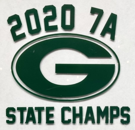 "Grayson State Champs 5"" Decal"