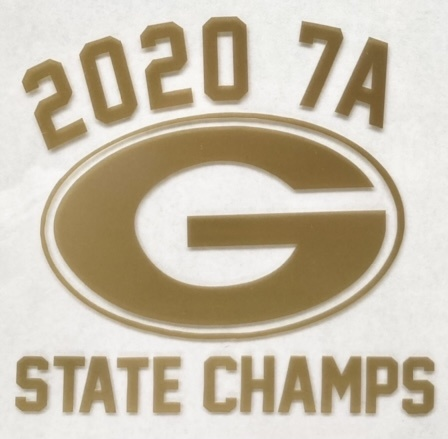 """Grayson State Champs 3"""" Decal"""