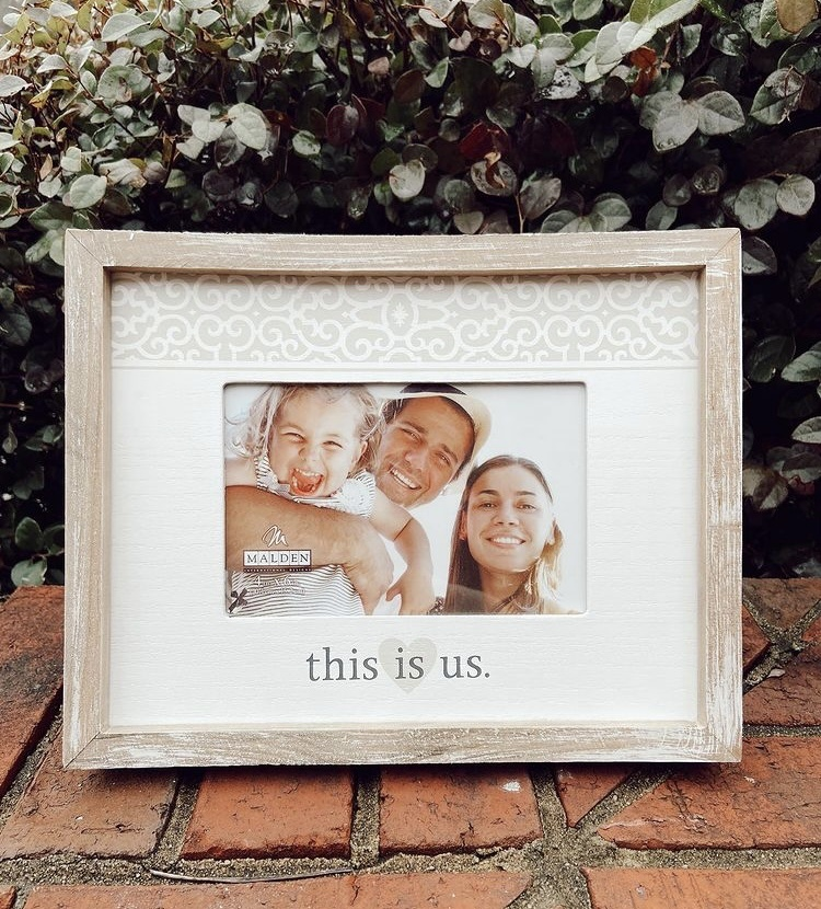 This Is Us Rustic Frame