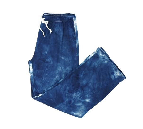 HELLO MELLO Navy Tie Dye Lounge Pants