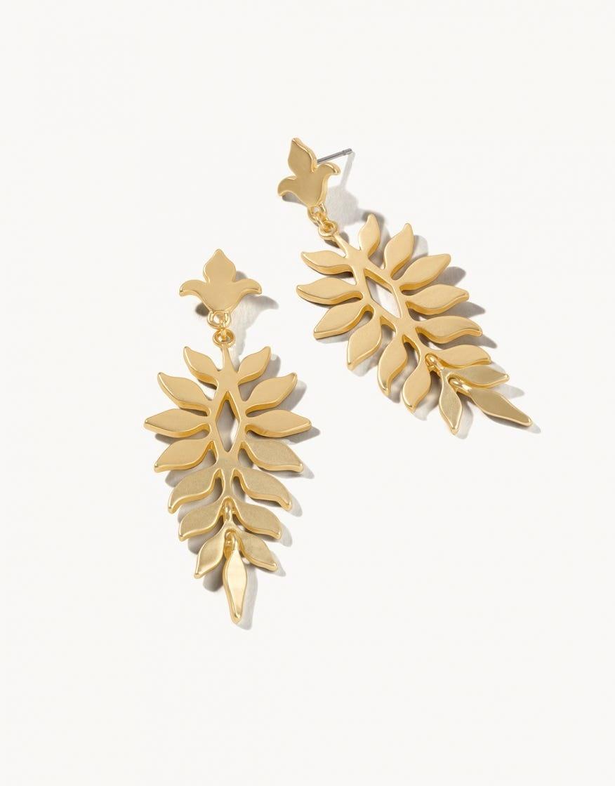 Gold Lighthouse Earrings