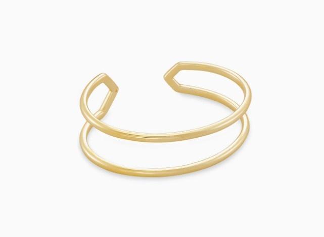 Mikki Gold Cuff Bracelet