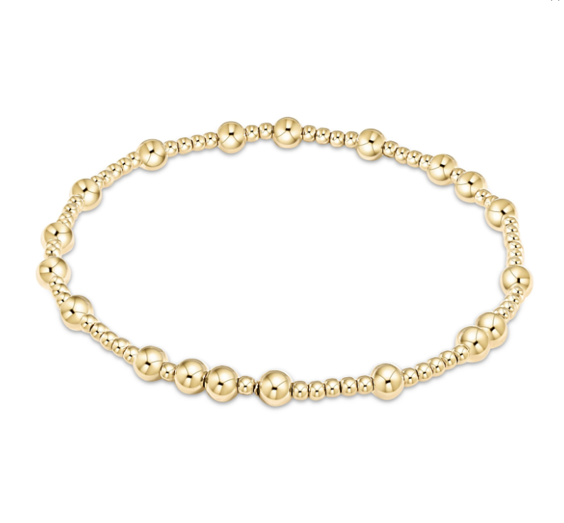Gold Hope Unwritten Bracelet