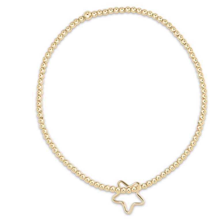 Star Classic Gold 2mm Bracelet
