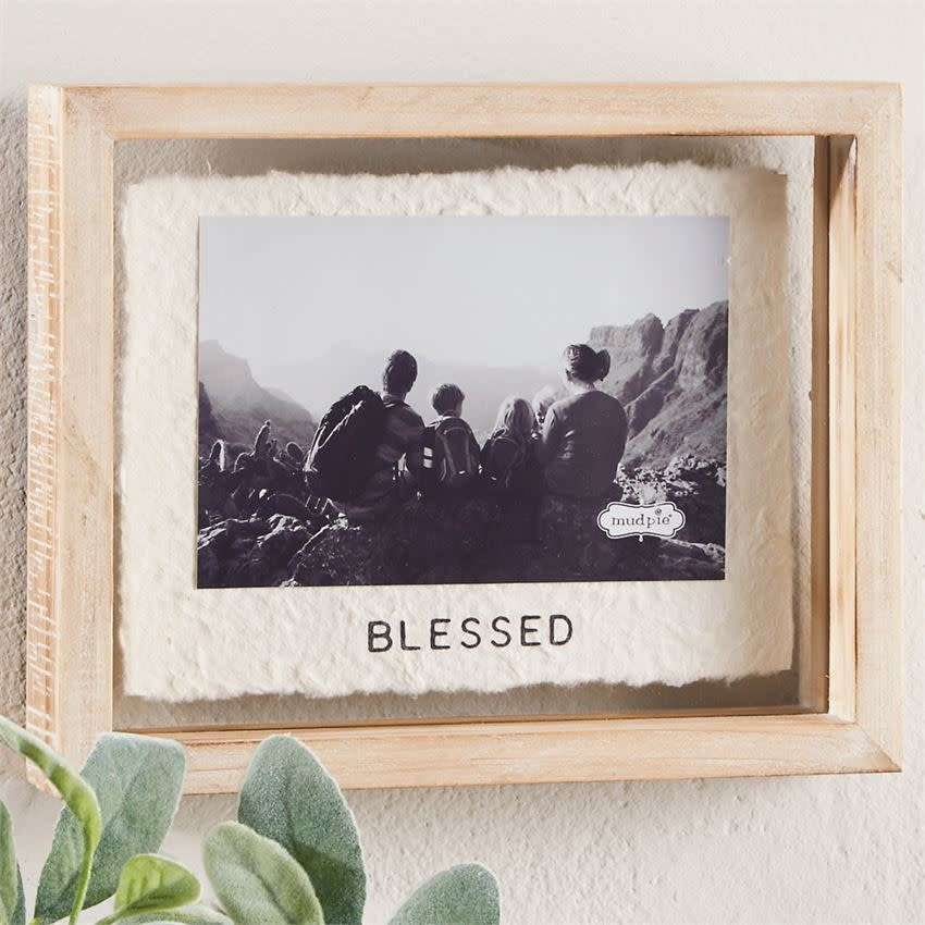 Blessed 4x6 Glass Frame