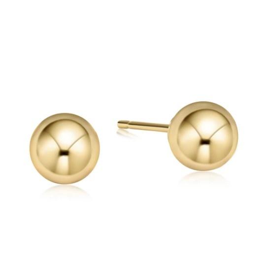 Classic 10mm Ball Stud Earring