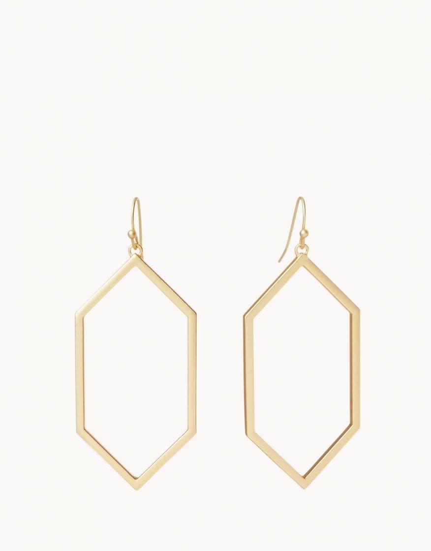 Gold Rhett Earring