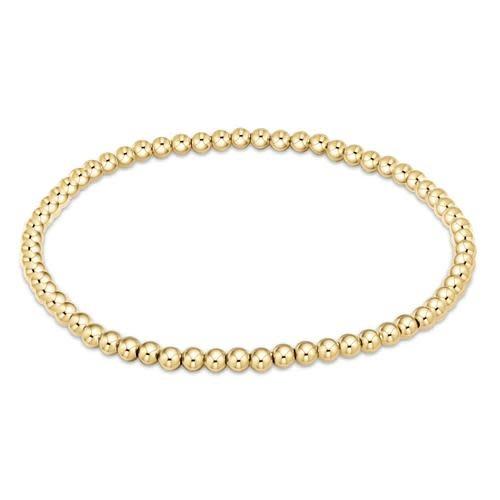 Extends Classic Gold 3mm Bracelet