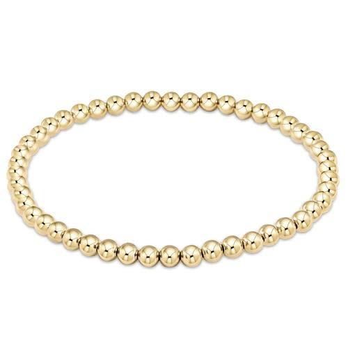 Extends Classic Gold 4mm Bracelet