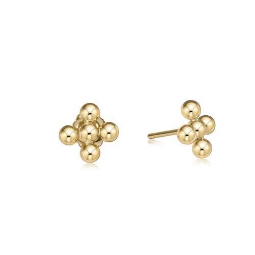Signature Cross 3mm Stud Earrings