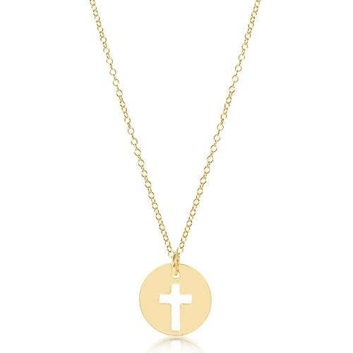 Gold Blessed Charm Necklace