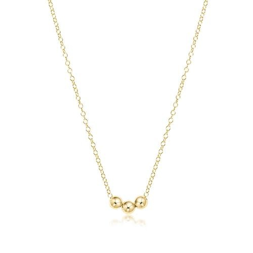 Gold Joy Charm Necklace