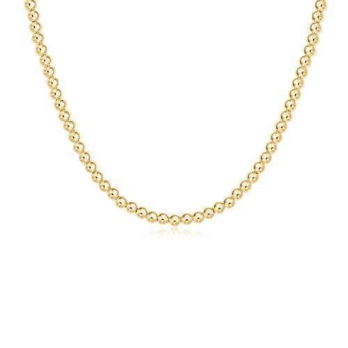 Classic Gold 4mm Choker Necklace