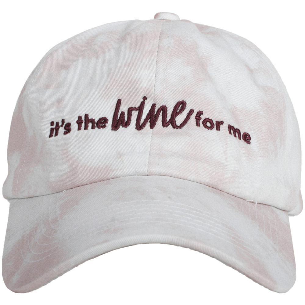 Wine For Me Tie Dye Hat